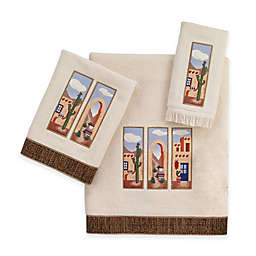 Avanti Adobe Village Bath Towel Collection in Ivory