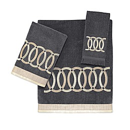 Avanti Alexa Hand Towel in Granite