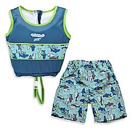 Aqua Leisure® Boys' 2-Piece Swim Trainer in Blue