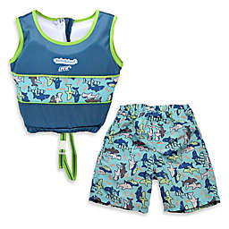Aqua Leisure® Boys' 2-Piece Swim Trainer in Blue
