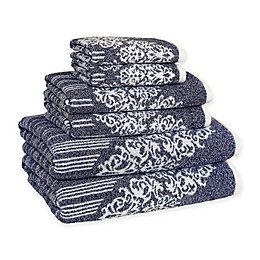 Linum Home Textiles Gioia Turkish Cotton Bath Towels (Set of 6)