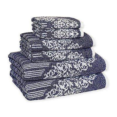 Linum Home Textiles Gioia Turkish Cotton Bath Towels (Set of 6)