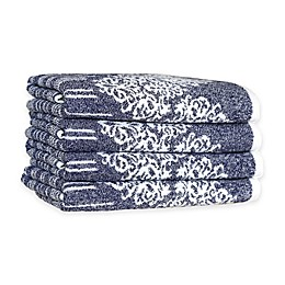 Linum Home Textiles Gioia Turkish Cotton Hand Towels (Set of 4)