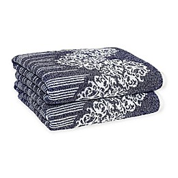 Linum Home Textiles Gioia Turkish Cotton Bath Towels (Set of 2)