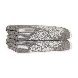 Linum Home Textiles Gioia Turkish Cotton Bath Towels (Set of 2)