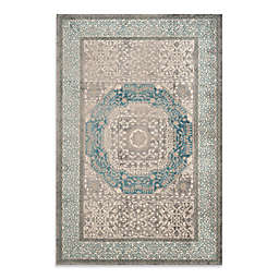Safavieh Sofia Collection Diamonds 4-Foot x 5-Foot 7-Inch Area Rug in Grey