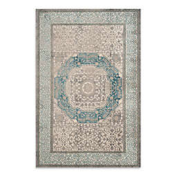 Safavieh Sofia Collection Diamonds 6-Foot 7-Inch x 9-Foot 2-Inch Area Rug in Grey