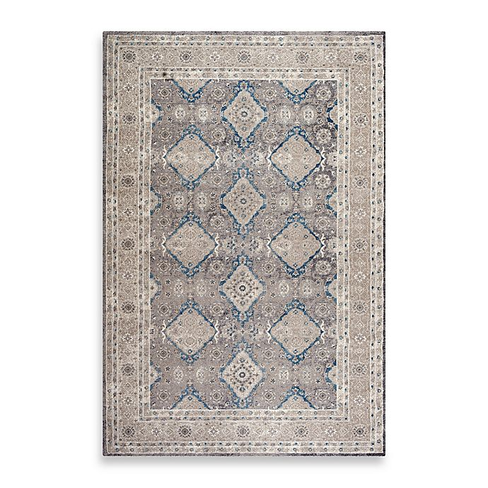 Alternate image 1 for Safavieh Sofia Collection Diamonds 9-Foot x 12-Foot Area Rug in Grey