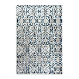 Safavieh Sofia Collection Damask Rug in Blue