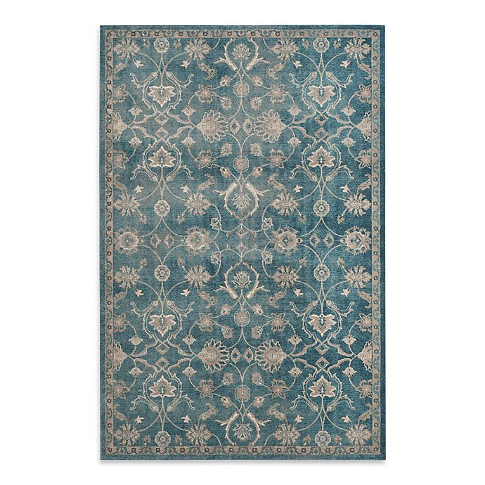 Alternate image 1 for Safavieh Sofia Collection Floral Area Rug in Blue