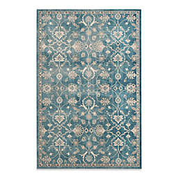 Safavieh Sofia Collection Floral 9-Foot x 12-Foot Area Rug in Blue