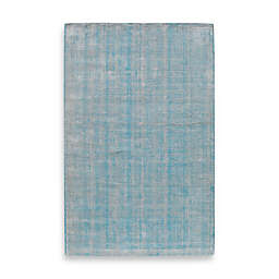 Rugs America Williams Stonewash 5-Foot x 8-Foot Area Rug in Turquoise