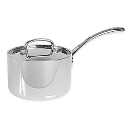 Cuisinart French Classic Tri-Ply Stainless Steel 3 qt. Covered Saucepot
