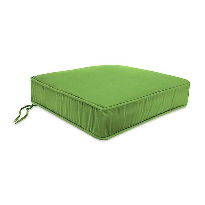 Alternate image 1 for 20-Inch Boxed Edge Seat Cushion in Sunbrella® Ginkgo