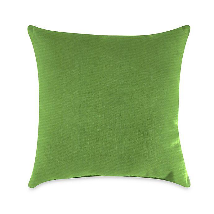 Alternate image 1 for Gingko Outdoor Throw Pillow in Sunbrella® Ginkgo