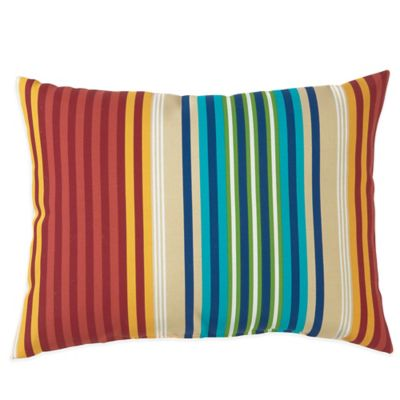 Outdoor Throw Pillows In Modern Stripe Bed Bath Amp Beyond
