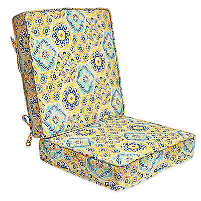 Print 2-Piece Deep Seat Cushion