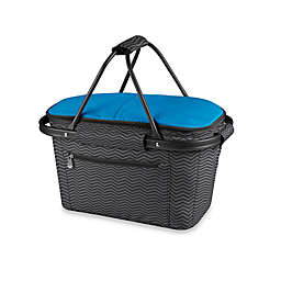 Picnic Time® Market Basket Collapsible Tote