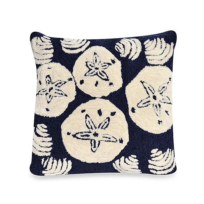 Alternate image 1 for Liora Manne Frontporch Shell Toss Square Throw Pillow