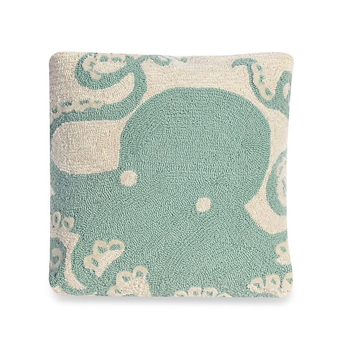 Alternate image 1 for Liora Manne Frontporch Octopus Square Throw Pillow