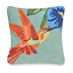 Liora Manne Frontporch Hummingbird Square Throw Pillow