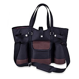 Picnic Time® Wine Country Tote in Black