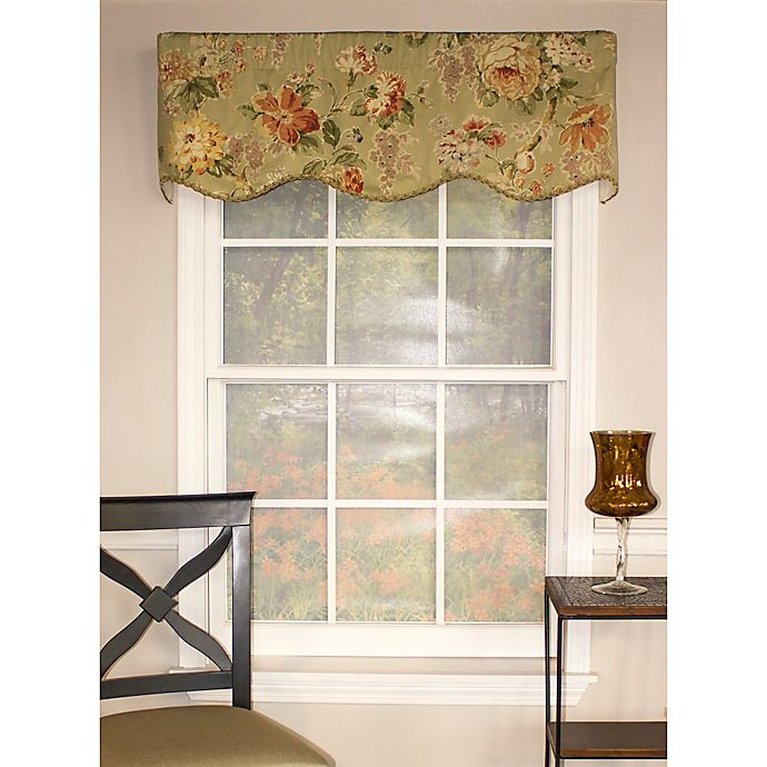 Rl Fisher Le Fleur Provanace Window Valance