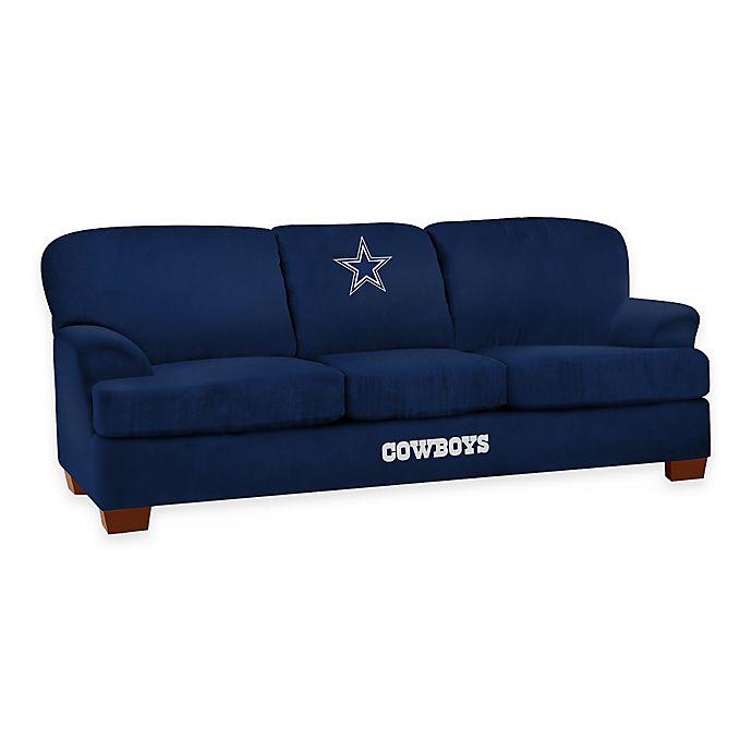 Sleeper Sofa Dallas: NFL Dallas Cowboys Microfiber First Team Sofa