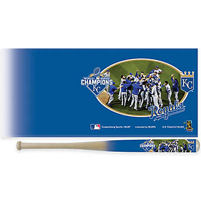 MLB Kansas City Royals 2015 World Series Celebrations 34-Inch Bat