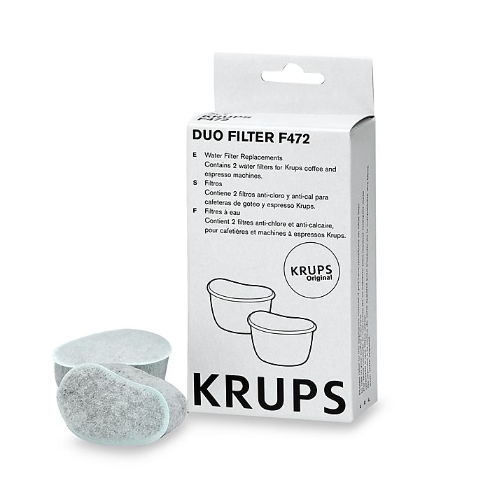 Alternate image 1 for Krups® Duo Filter Water Filters (Set of 2)