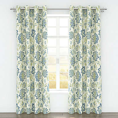 Colorfly™ Bella 84-Inch Grommet Top Window Curtain Panel Pair