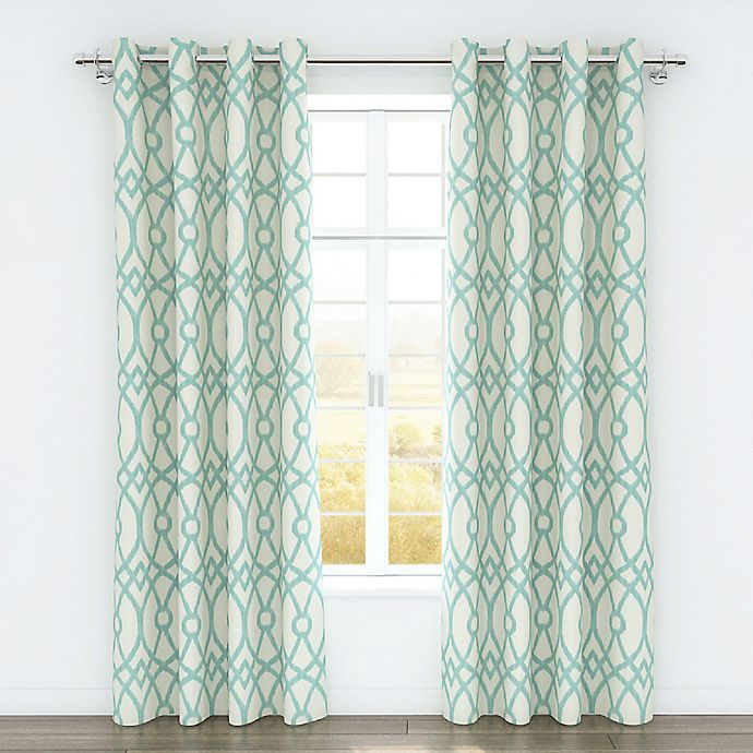 Alternate image 1 for Colorfly™ Piper 84-Inch Grommet Top Window Curtain Panel Pair