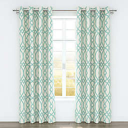 Colorfly™ Piper 84-Inch Grommet Top Window Curtain Panel Pair