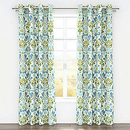 Colorfly™ Sasha 84-Inch Grommet Top Window Curtain Panel Pair