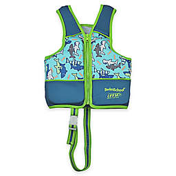 Aqua Leisure® SwimSchool® Printed Swim Vest in Blue