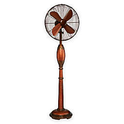 Deco Breeze 16-Inch Rhythm Floor Fan in Hammered Copper