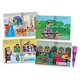 Educational Insights® Hot Dots® Jr. Princess Fairy Tales Interactive Storybooks (Set of 4)