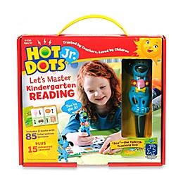 Educational Insights Hot Dots Jr. Let's Master Kindergarten Reading