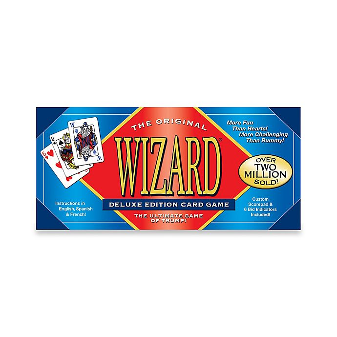 Alternate image 1 for Wizard Card Game Deluxe Edition