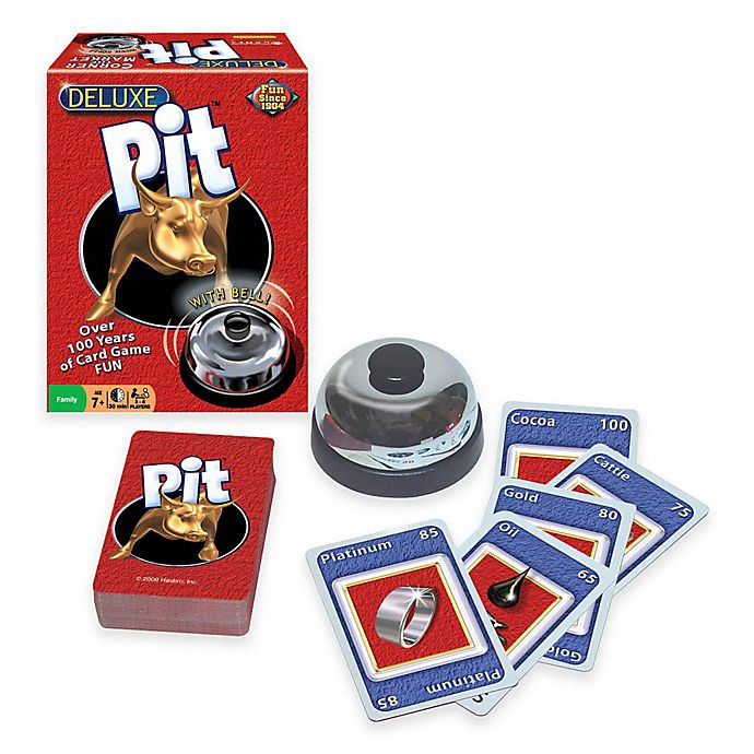 Alternate image 1 for Deluxe Pit Card Game