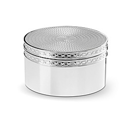 Vera Wang Wedgwood® With Love Nouveau Covered Box in Silver