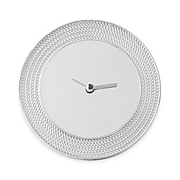 Vera Wang Wedgwood® With Love Nouveau Silver Clock