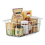SALT™ Pantry Storage Basket in White