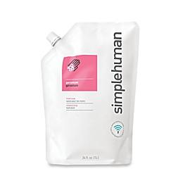 simplehuman® Moisturizing Liquid Hand Soap 34 oz. Refill Pouch in Geranium