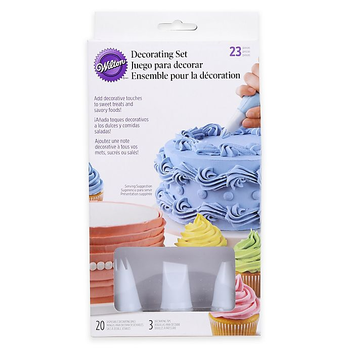 Alternate image 1 for Wilton® Disposable Bags and Tips Decorator Set