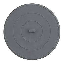 Flat Rubber Sink Stopper in Grey