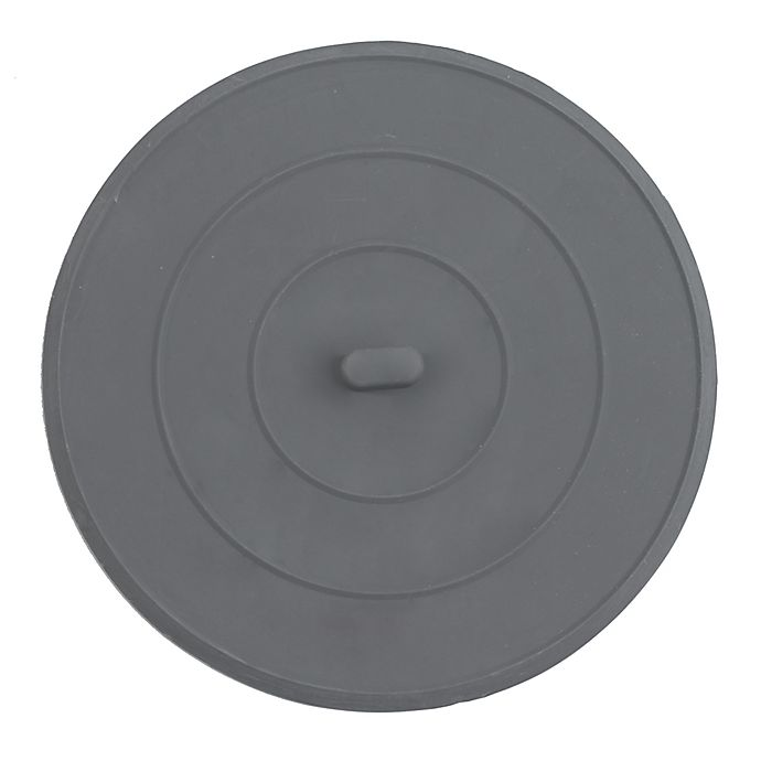 Flat Rubber Sink Stopper In Grey Bed Bath Amp Beyond