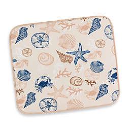 Seashells Dish Drying Mat