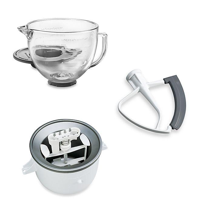 Alternate image 1 for KitchenAid® 5-Quart Artisan™ Custom Metallic Stand Mixer Accessories Collection