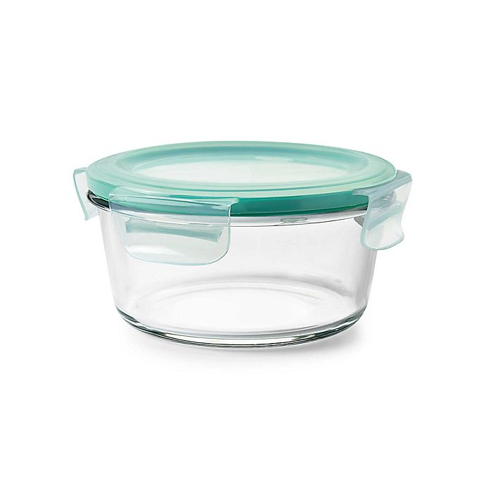 Alternate image 1 for OXO Good Grips® Smart Seal  Round Glass Container